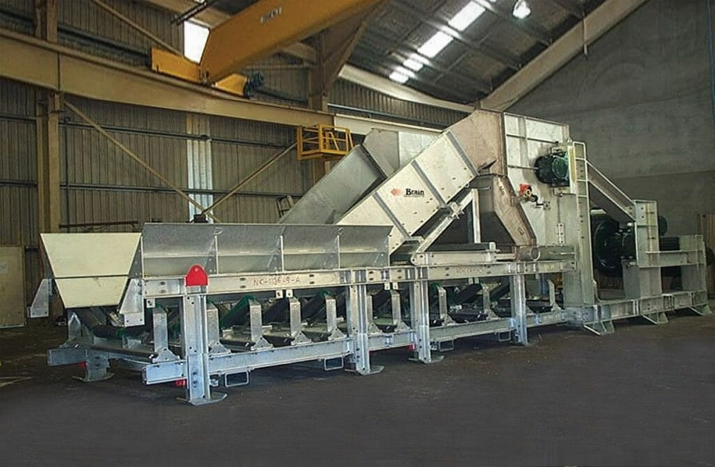 brain industries conveyor dewatering system