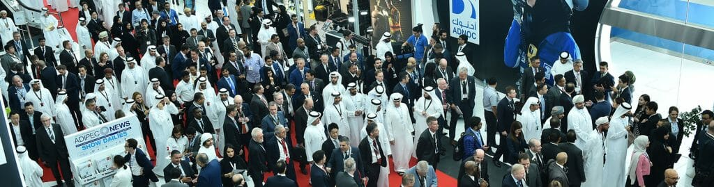 Delegates at the ADIPES conference and exhibition