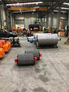 A range of conveyor pulleys from Brain Industries