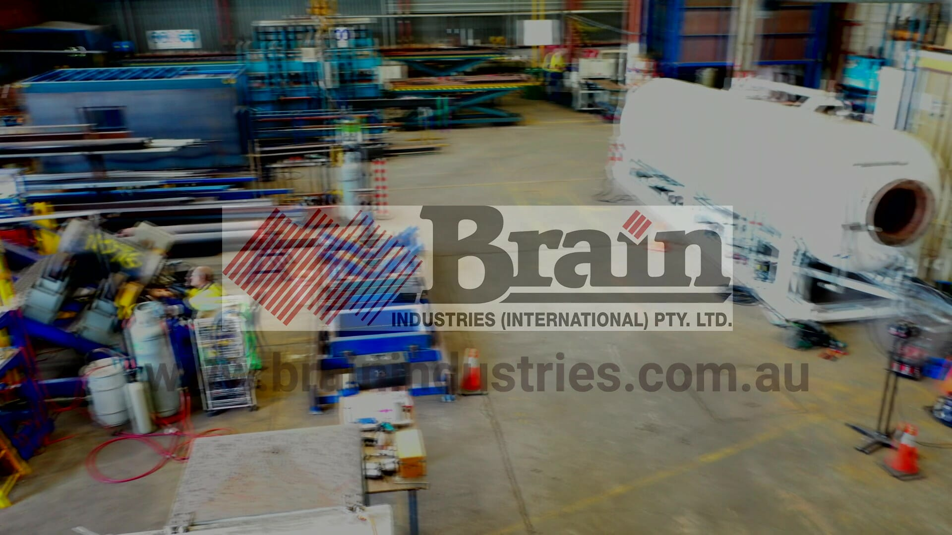 Brain Industries manufacturing and equipment service centre in Newcastle