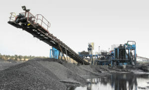a photo of coal