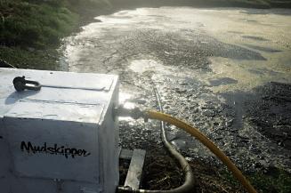 mudskipper pump in use