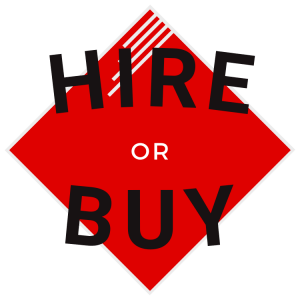 Hire or buy icon