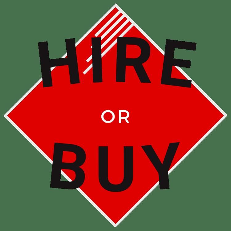 Hire or buy icon