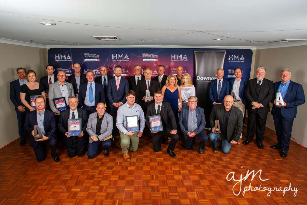 Winners of the 2020 Hunter Manufacturing Awards HMA