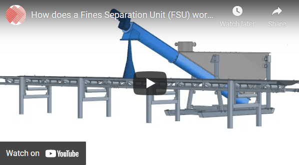 This video shows how a Brain Industries' Fines Separation Unit works