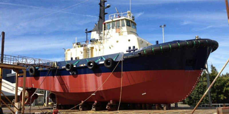 Brain Industries Tug Boat