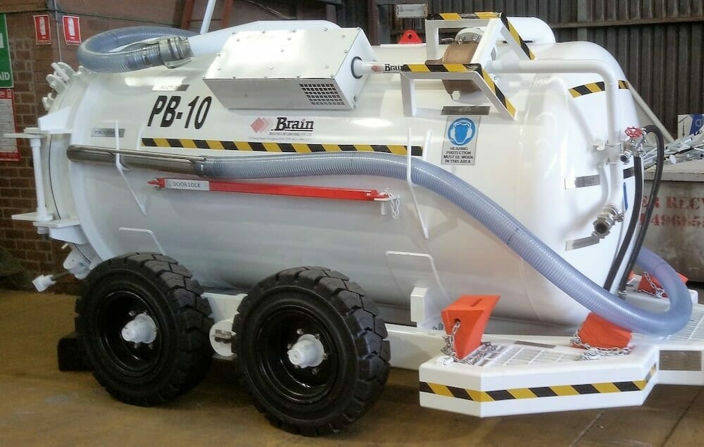 brain industries self filling tanker (non-hydraulic)